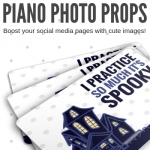 Fall-Themed Piano Studio Photo Props To Re-Energize Your Social Media Pages