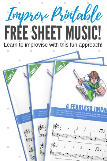 Free sheet music! This