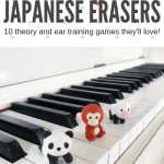 If You Think Piano Students Love Stickers Wait Until You Try Iwako Erasers