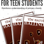 The Battle For Ballinmore – A Printable Piano Game To Reinforce Primary Chords In Minor Keys