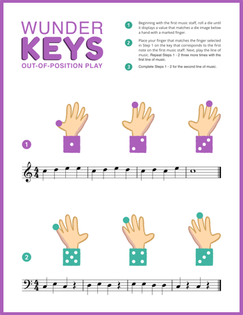 Unlocking piano students from position-based play
