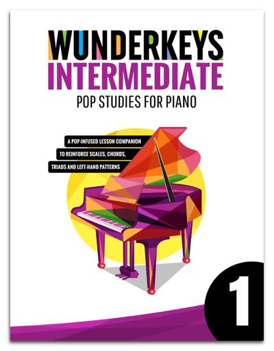 A Look-And-Listen Preview Of WunderKeys Intermediate Pop