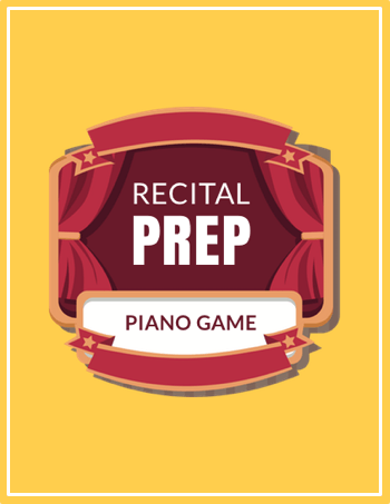 Piano Recital Prep Game Image