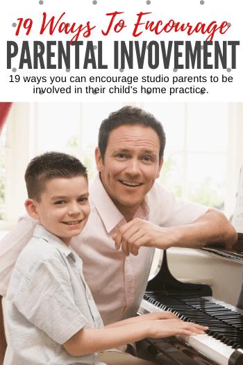 19 Ways To Involve Piano Parents