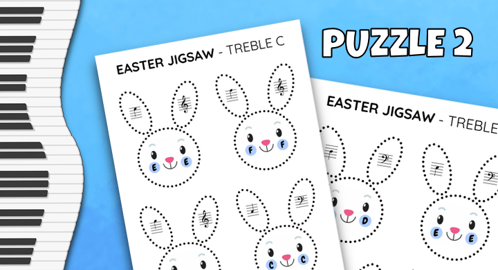 Note Reading Jigsaw Puzzle 2