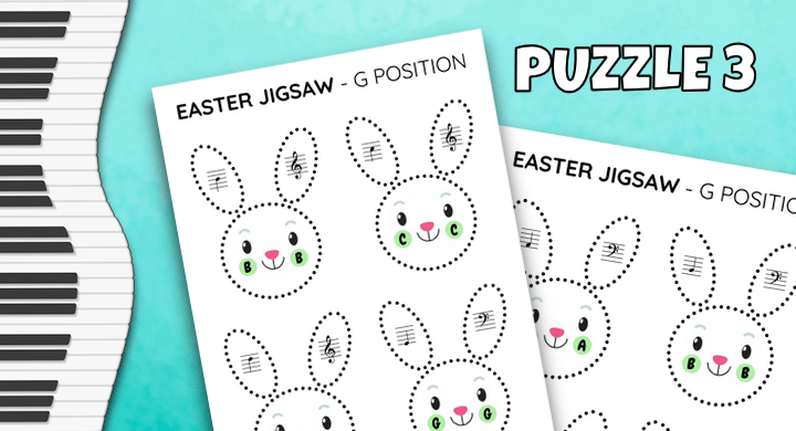 Note Reading Jigsaw Puzzle 3