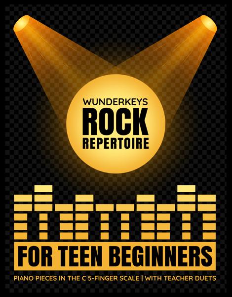 Rock Piano Repertoire For Teens