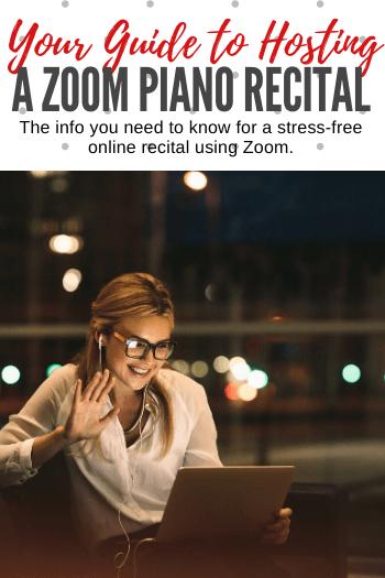 Zoom Piano Recitals
