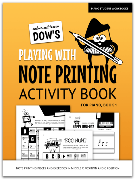 Note Printing Activities