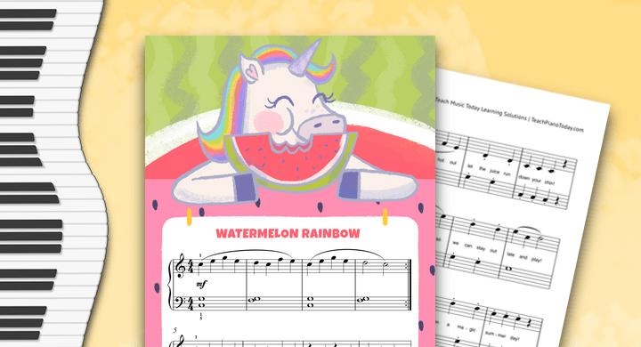 Unicorn-Themed Piano Solo