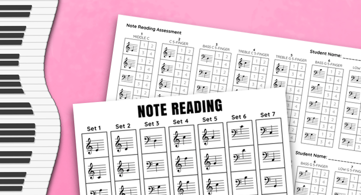 Note Reading Assessment