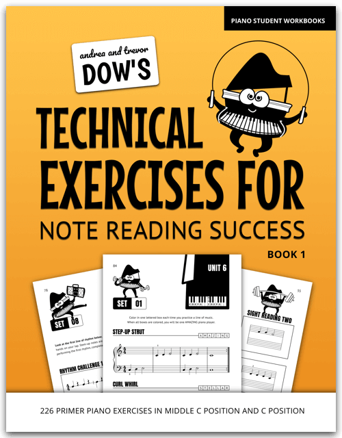 Technical Exercises For Primer Piano
