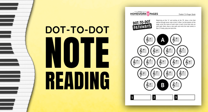 Dot-To-Dot Note Reading