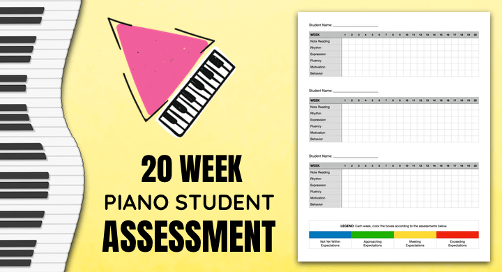 Assessing Piano Student Progress