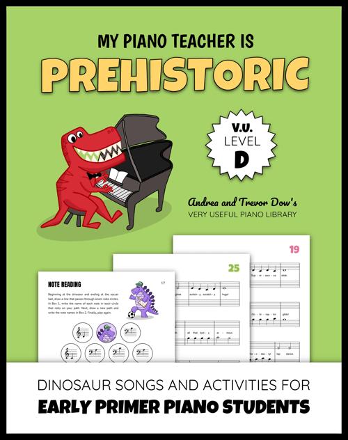 Dinosaur Piano Music