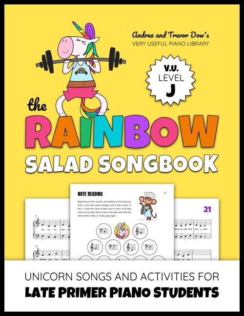 Unicorn Piano Songs