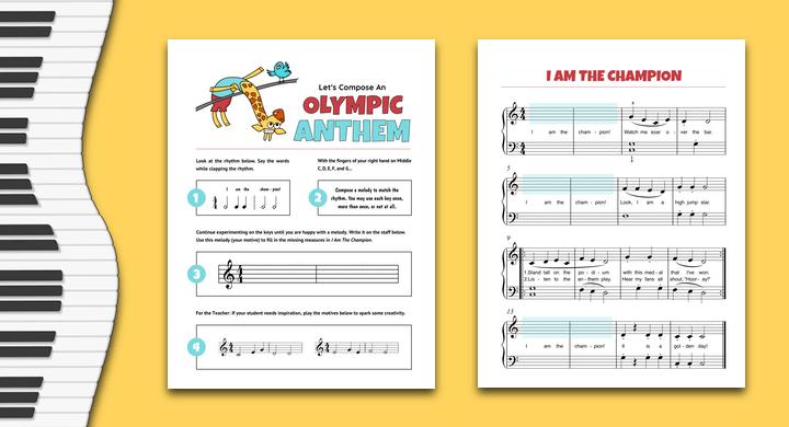 Summer Olympics Composing